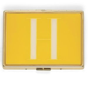 "Kate Spade It's Personal ID Initial ""H"" Holder"
